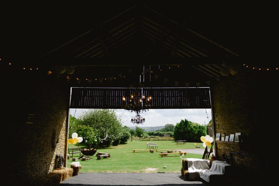 Court Farm from barn