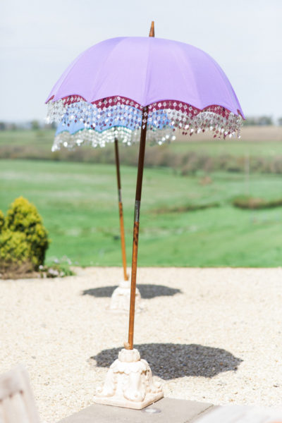 Indian Umbrella in the garden