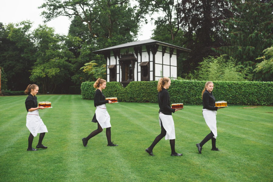 Catering staff larmer tree gardens