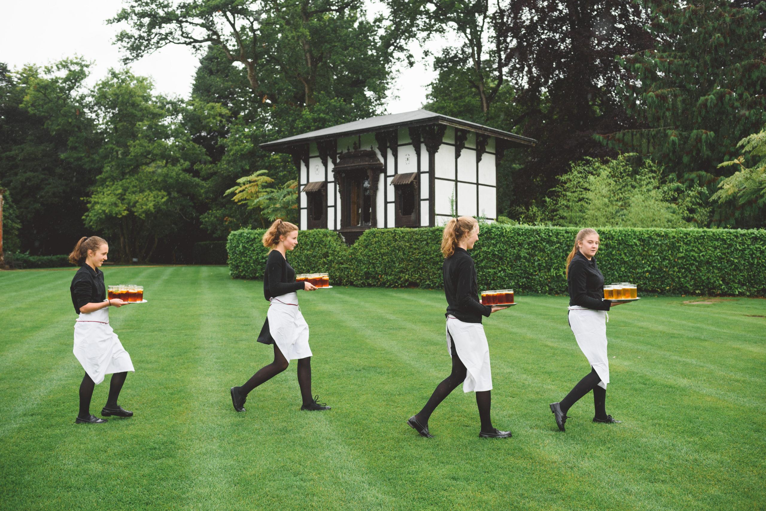 Catering staff larmer tree gardens