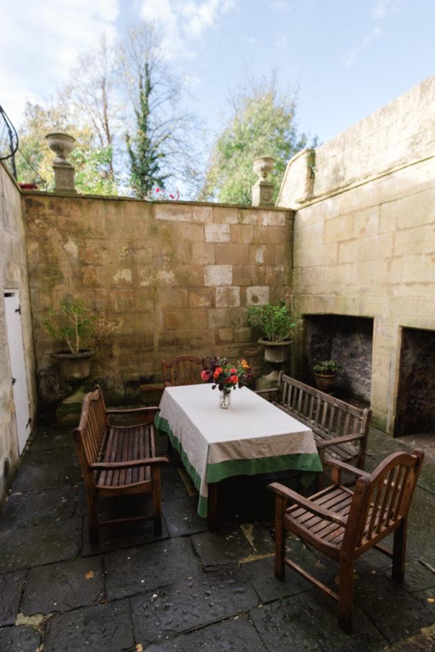 Georgian Courtyard Garden